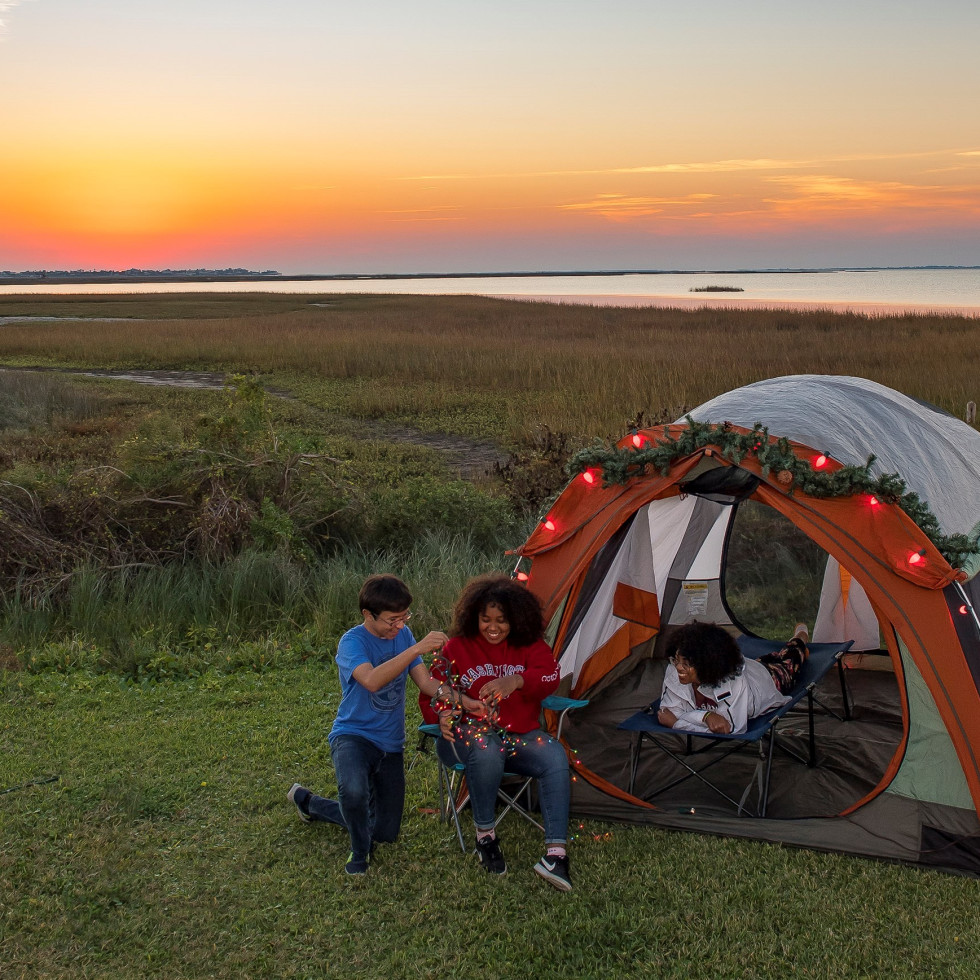 camping holidays state parks