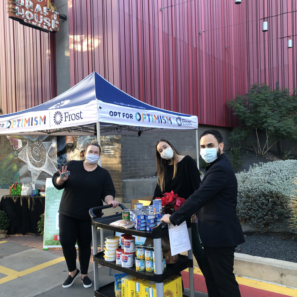 Frost Austin donation drop-off