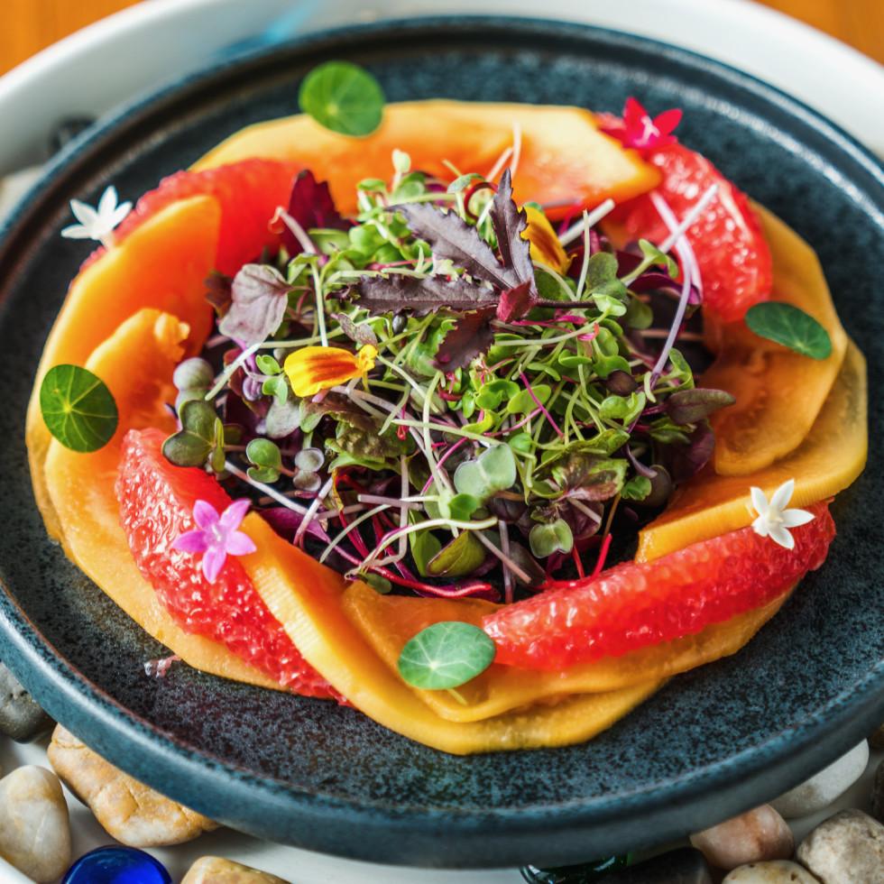 Musaafer winter pomelo salad