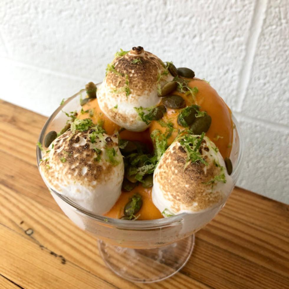 Tiny Champions carrot sundae