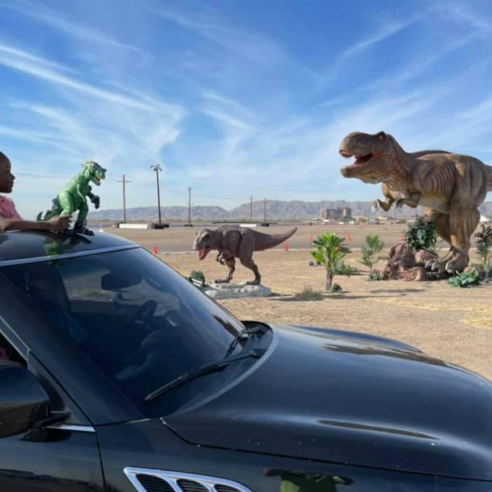 Dinosaur Drive-Thru