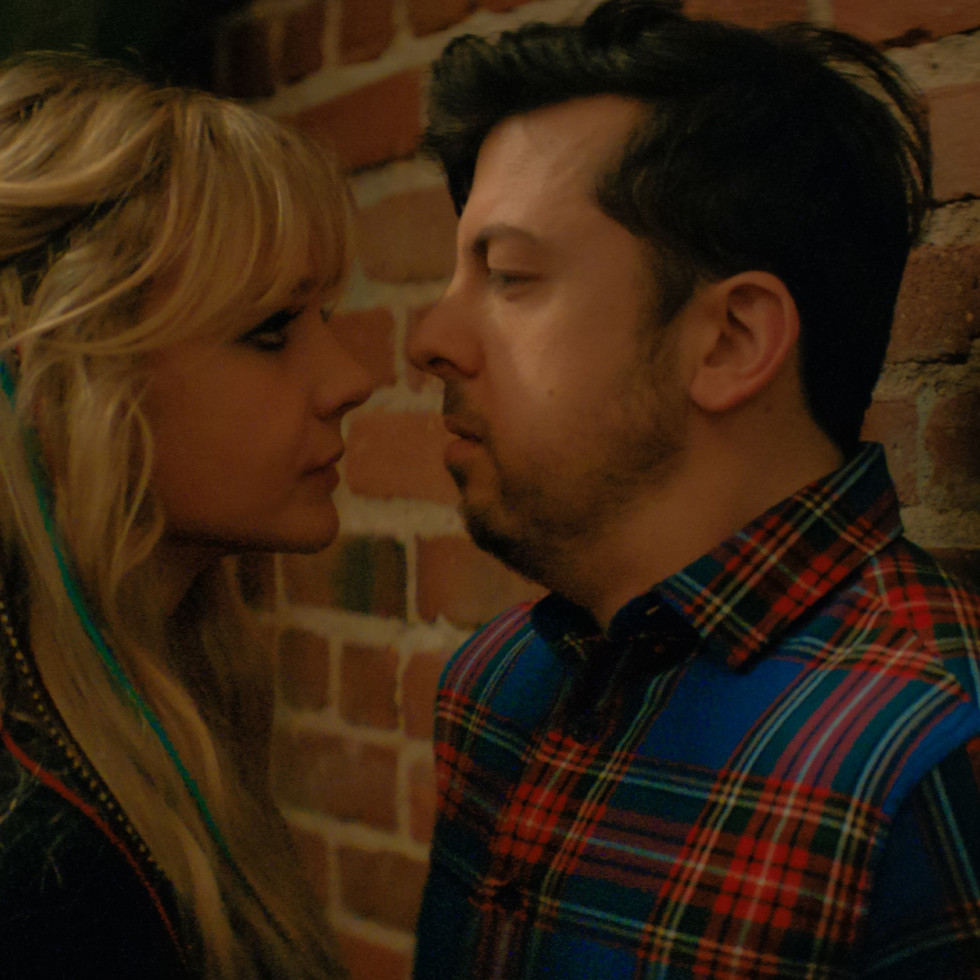 Carey Mulligan and Christopher Mintz-Plasse in Promising Young Woman