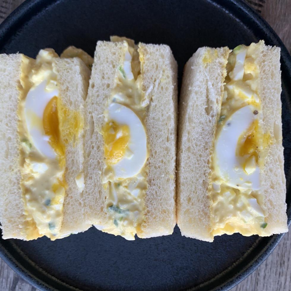 UB Preserv egg salad sandwich