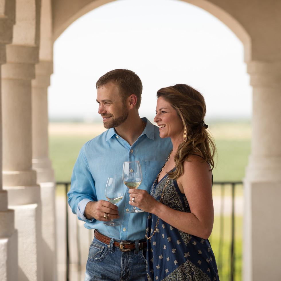 Barons Creek Vineyards in Fredericksburg