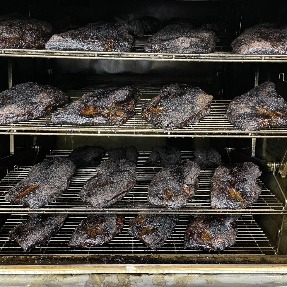 Killen's Barbecue The Woodlands pit briskets