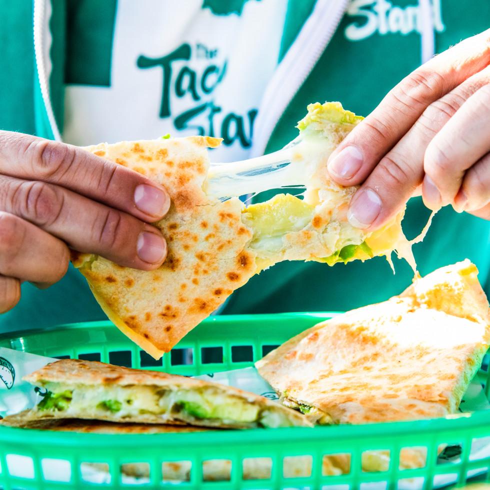Taco Stand quesadilla