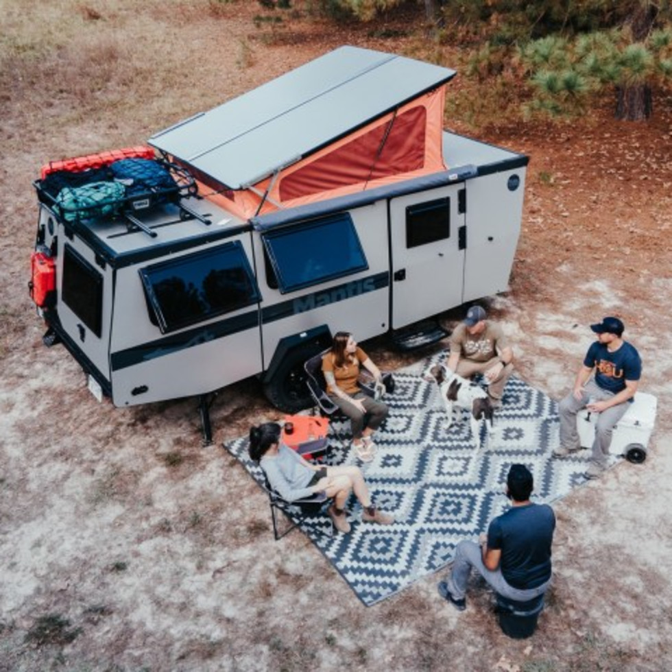 TAXA Outdoors camper