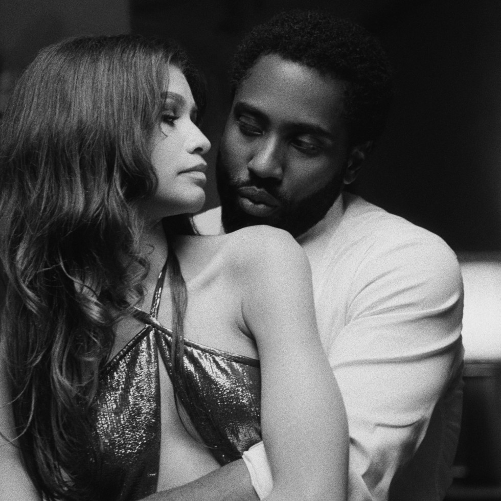 Zendaya and John David Washington in Malcolm & Marie
