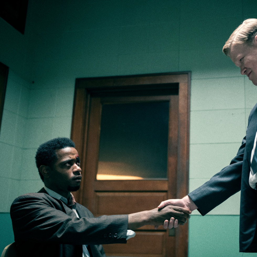 LaKeith Stanfield and Jesse Plemons in Judas and the Black Messiah
