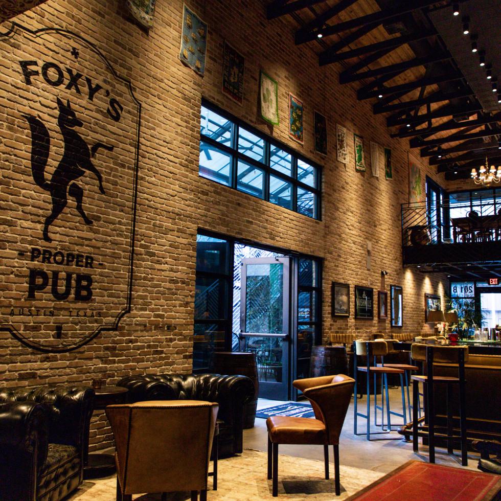 Foxy's Proper Pub interior
