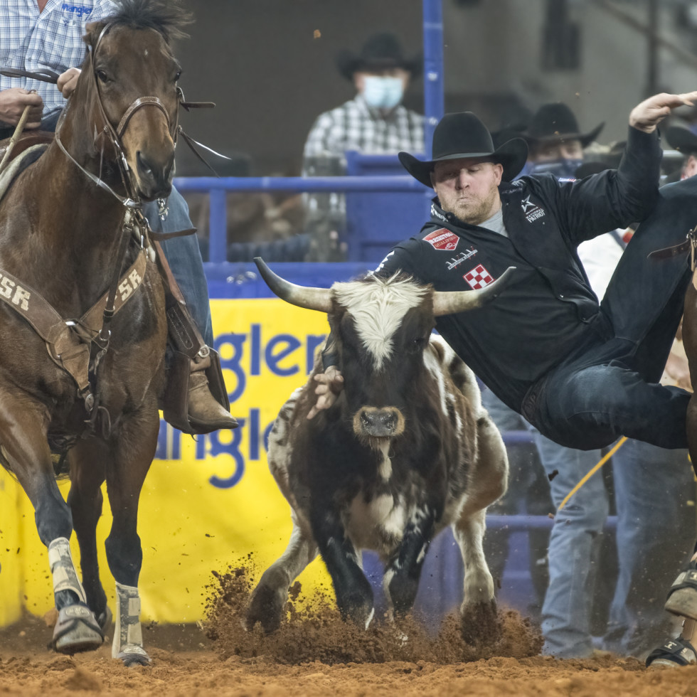 Will Lummus at the PRCA ProRodeo