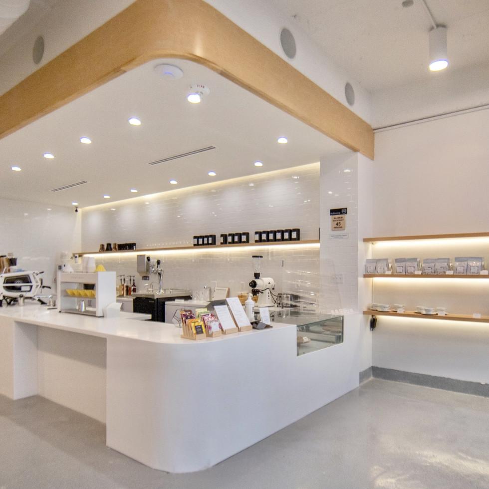 BlendIn Coffee Club Montrose interior