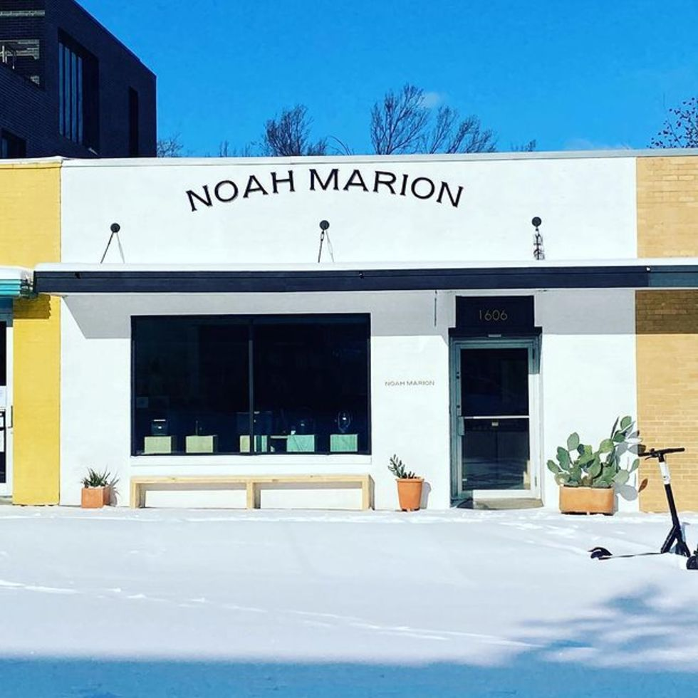 exterior of new Noah Marion shop on S. Congress Austin