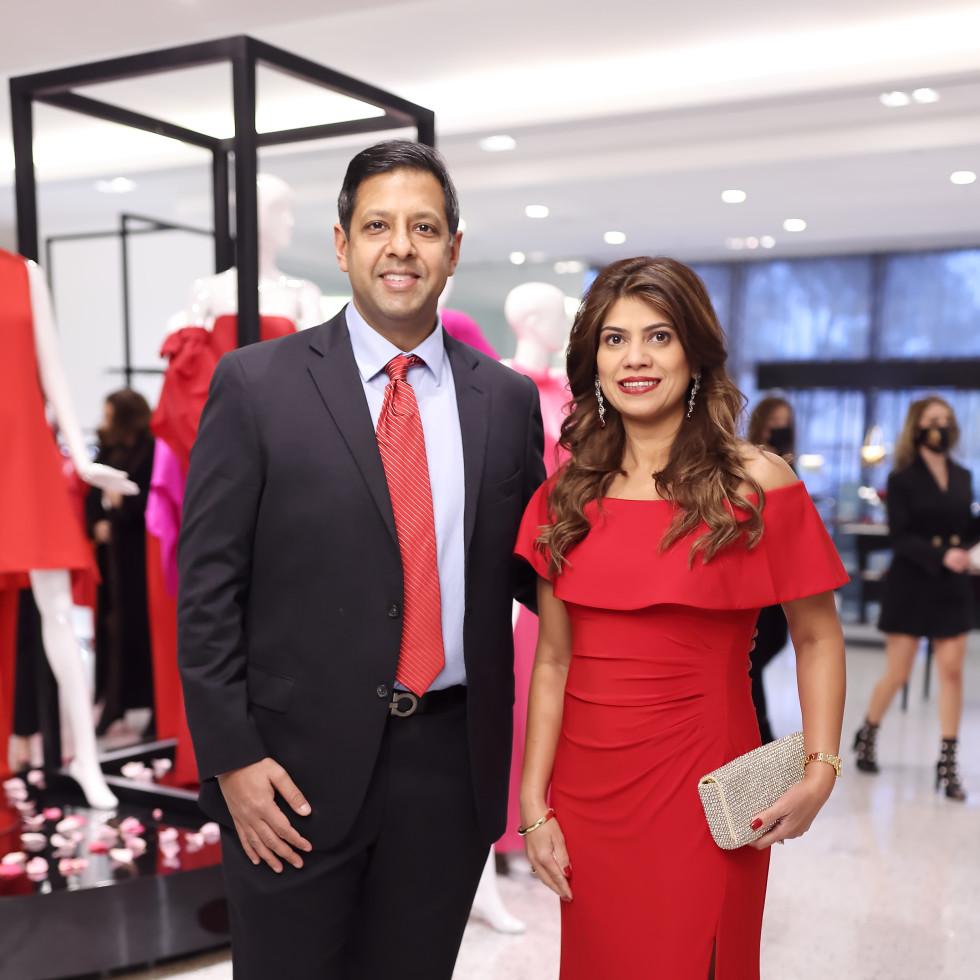 LCA Houston Winter Spring Power Couples 2021 Correa Power Couple Ankur and Namrata Goel