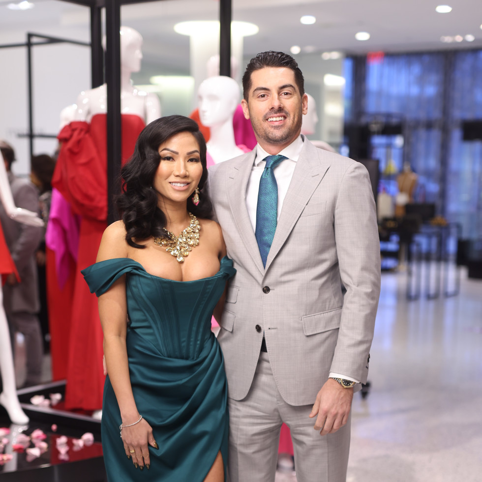 LCA Houston Winter Spring Power Couples 2021 Correa Power Couple: Terri Ho and Brandon Cammack