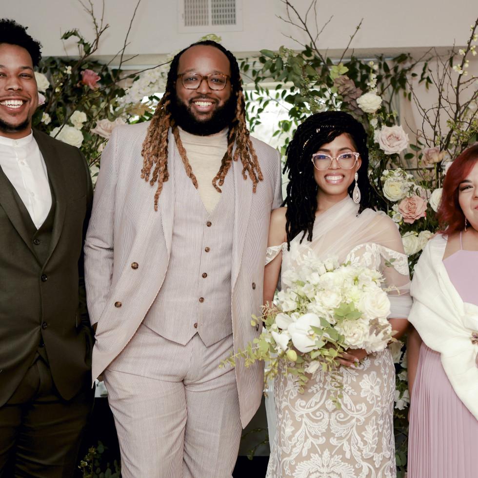 Wedding Houston 2021 Courtney Broussard and Jerimy Craft