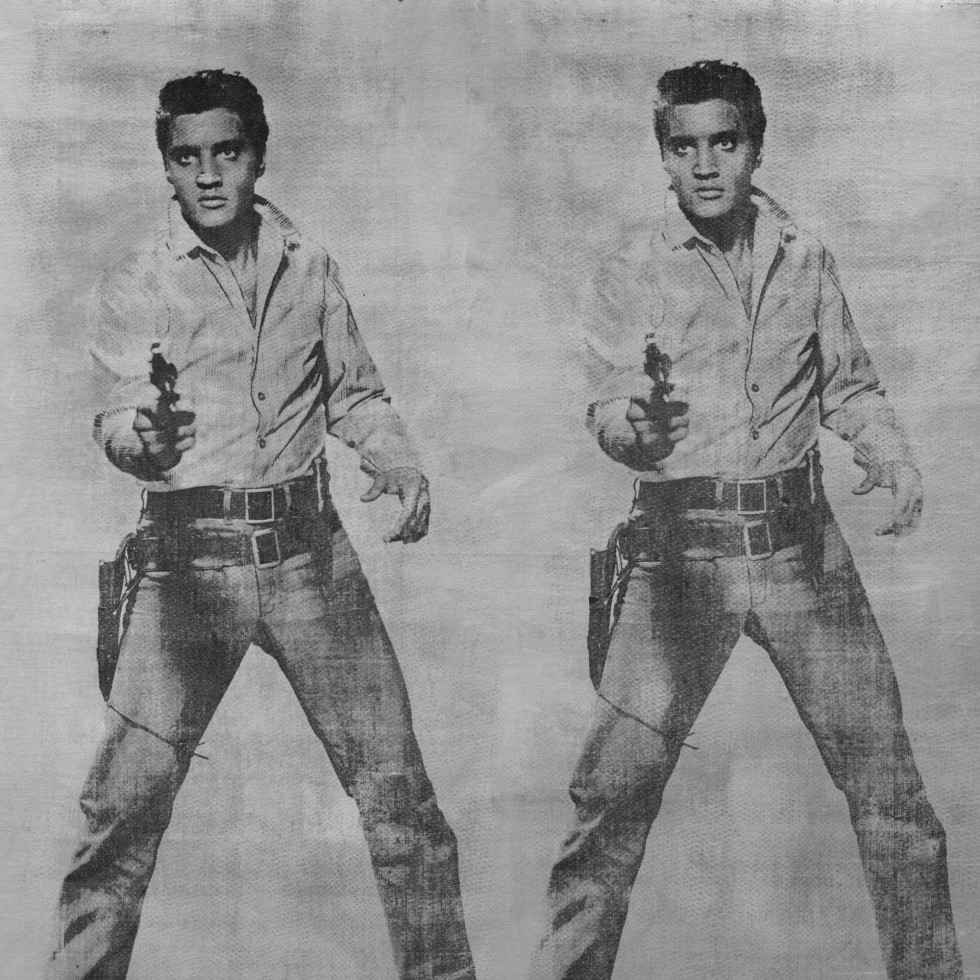 "Andy Warhol, ""Elvis 2 Times,"" Anne Marion"
