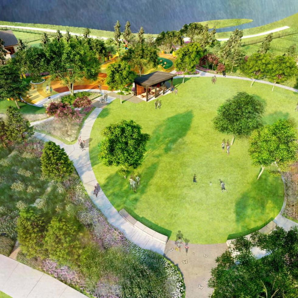 Papillion Park Prairieland Village