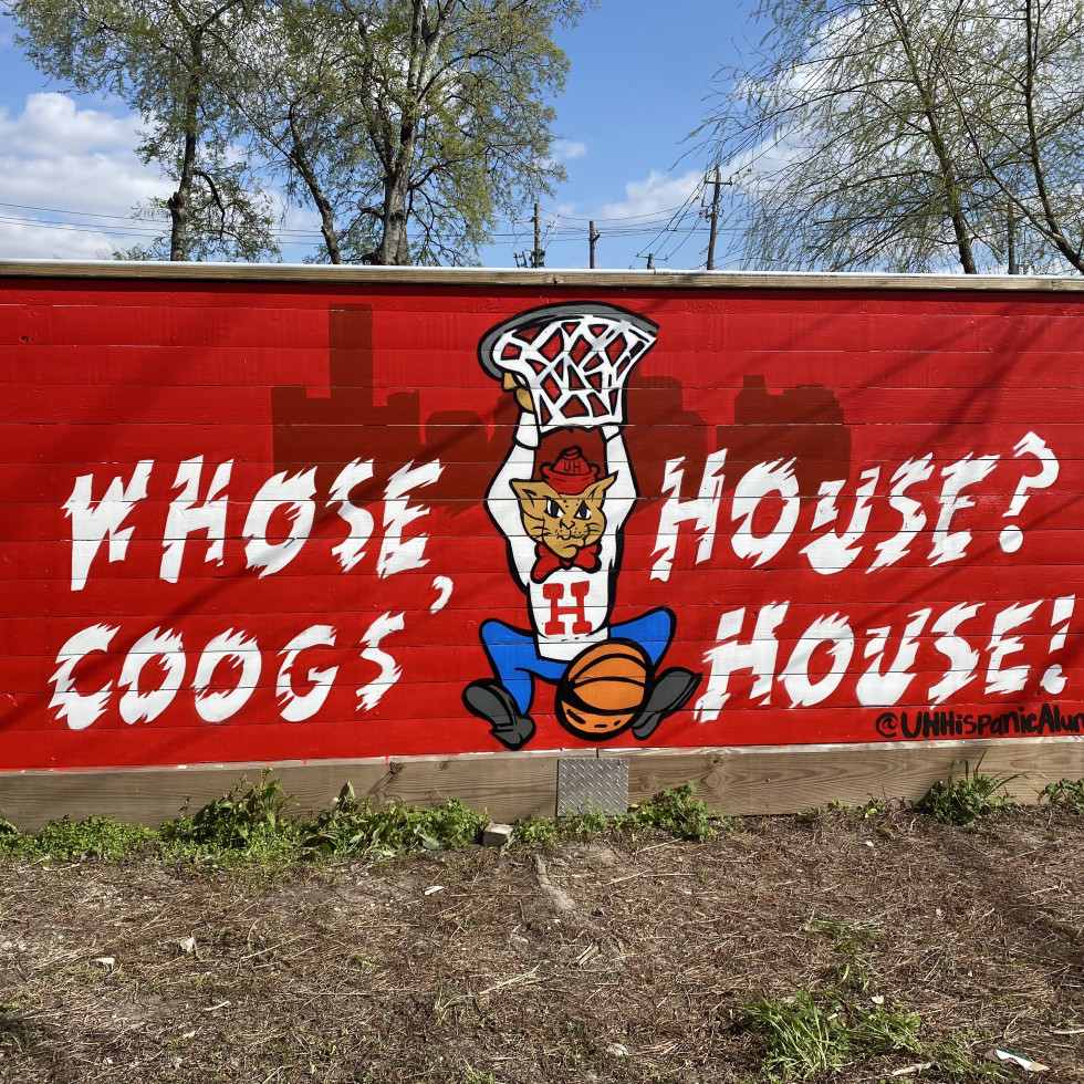Coogs House mural East End Backyard