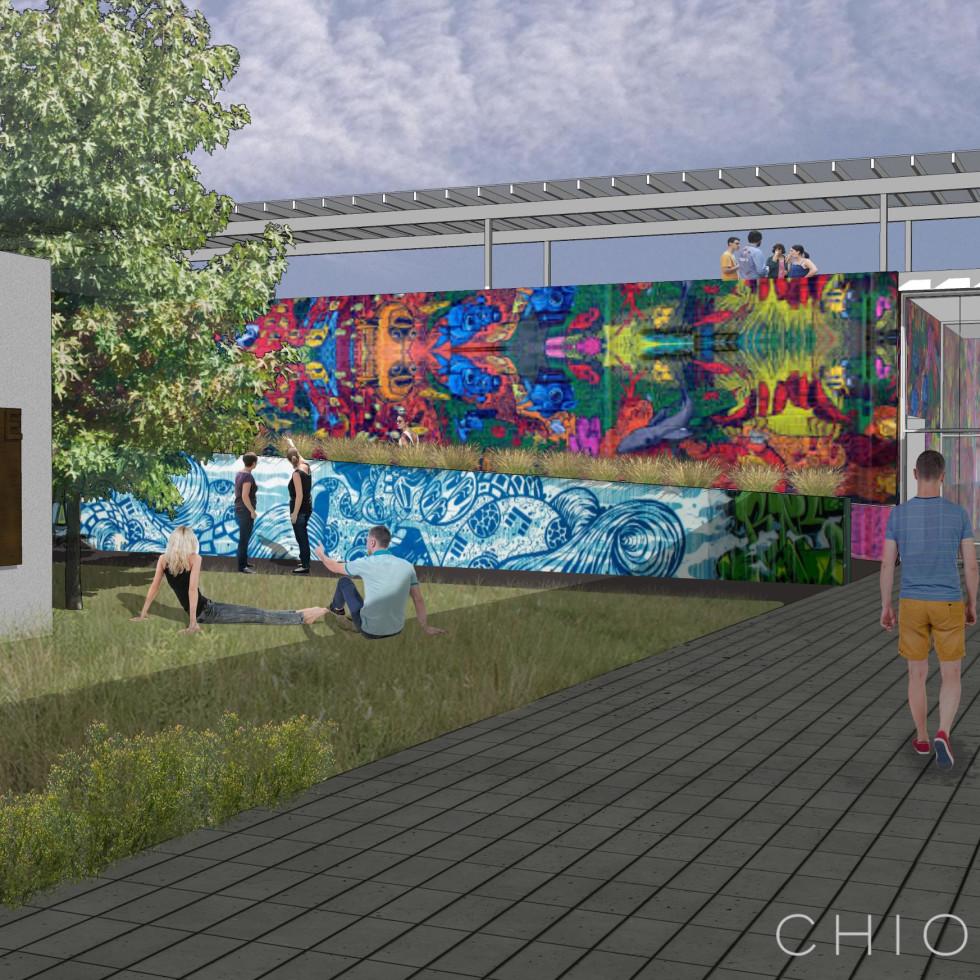 HOPE Outdoor Gallery Austin rendering