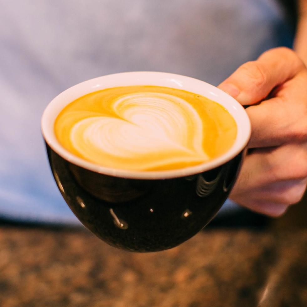 Fiction Coffee, latte