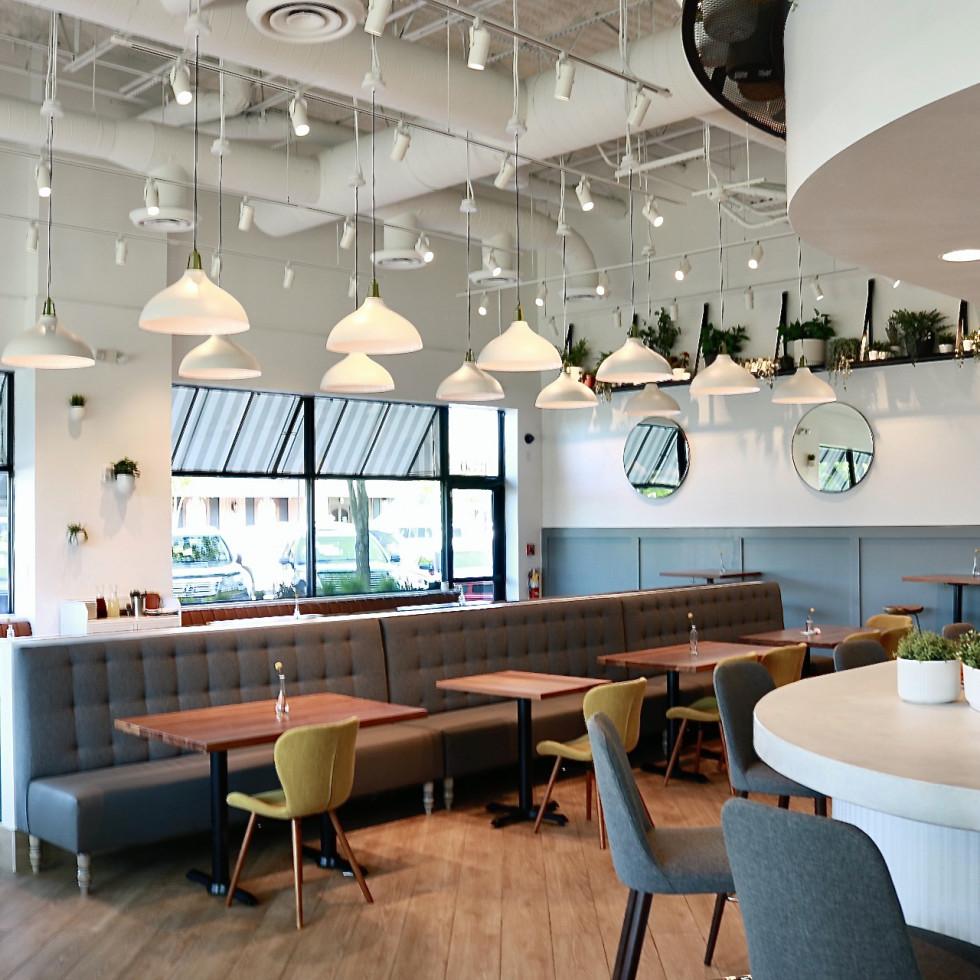 Dish Society Katy interior