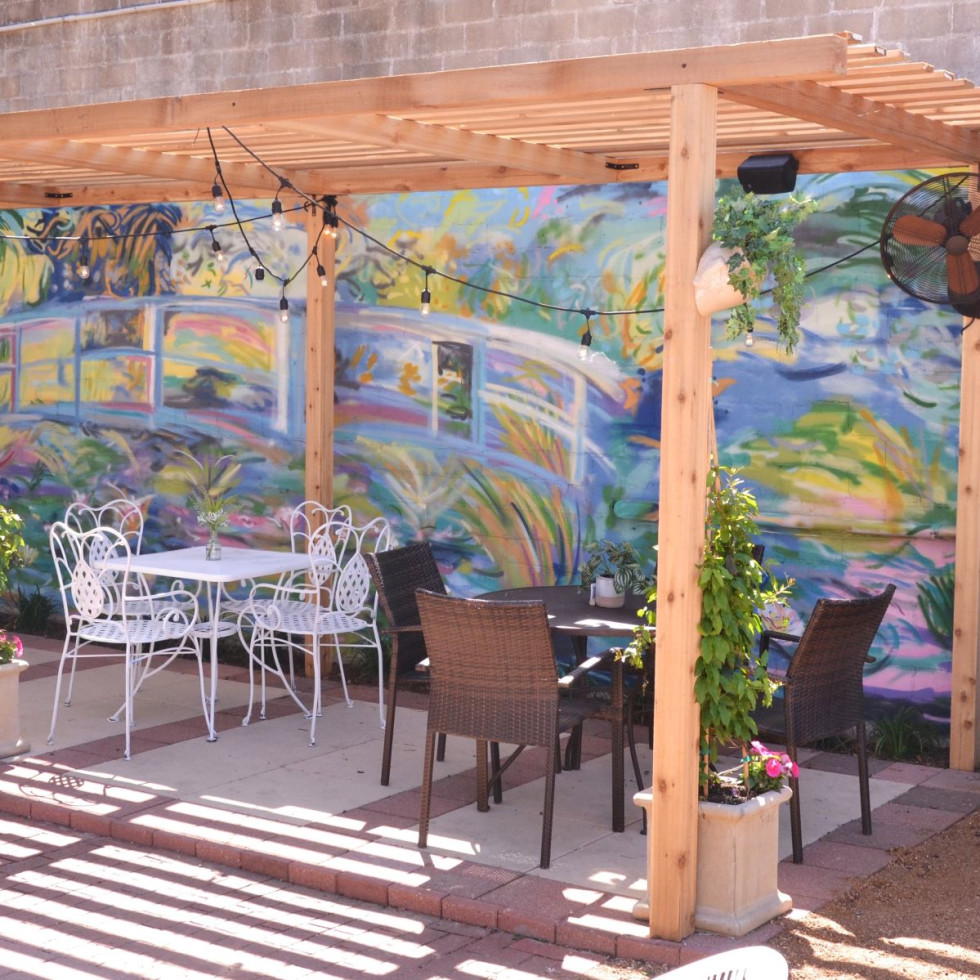 WineHaus patio