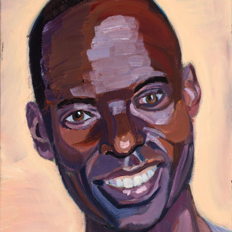 Gilbert Tuhabonye portrait by George W. Bush