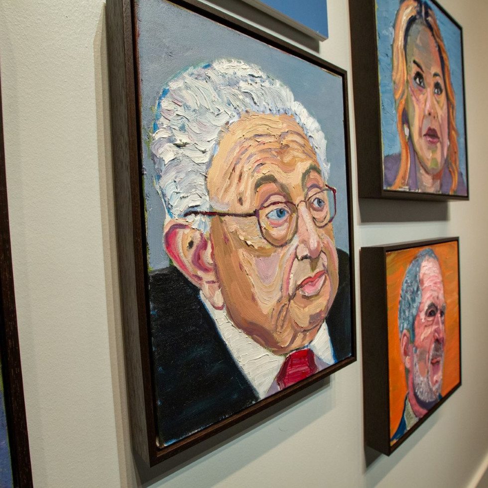 Out of Many, One George W. Bush portraits
