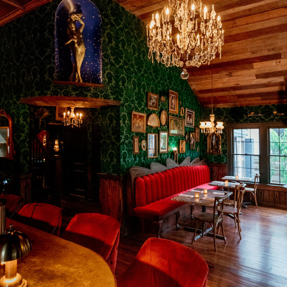 Honey Moon Spirit Lounge interior