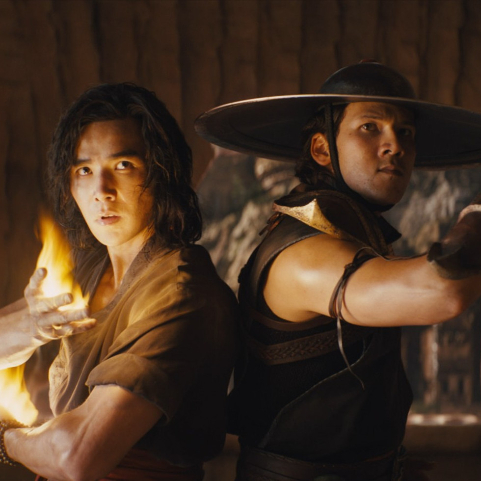 Ludi Lin and Max Huang in Mortal Kombat