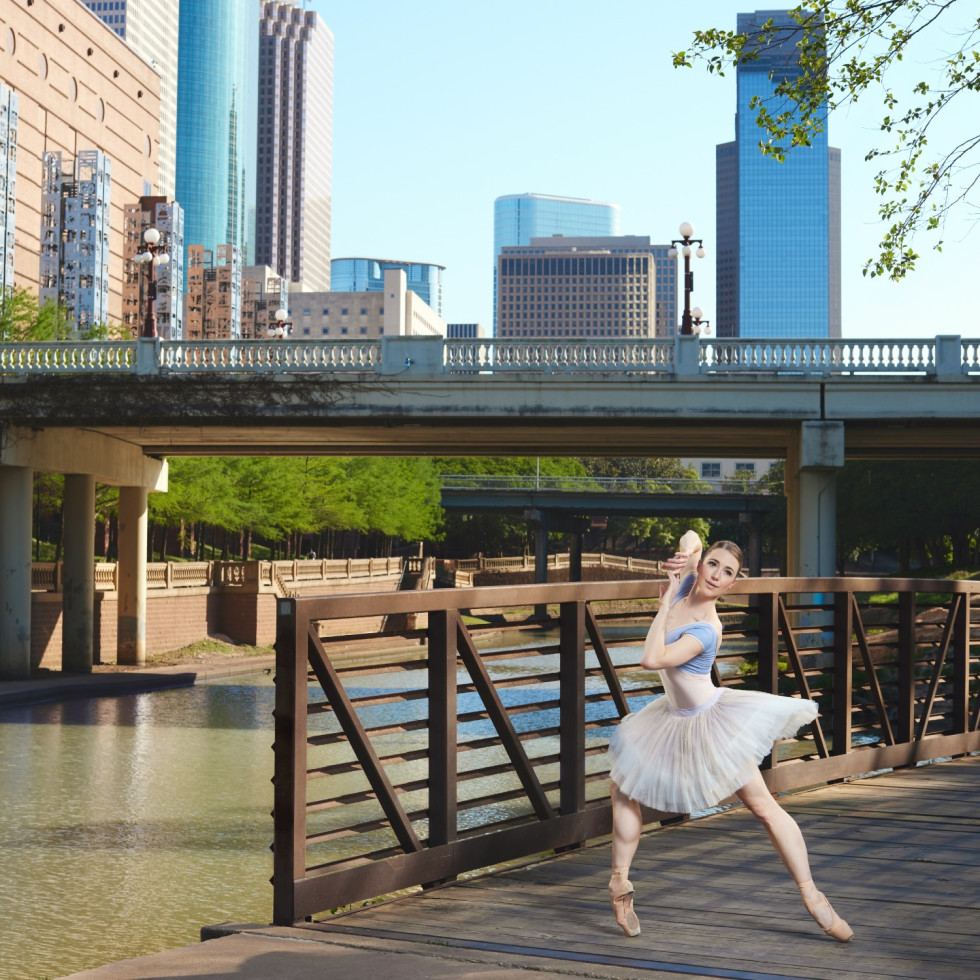 Houston Ballet principal Jessica Collado