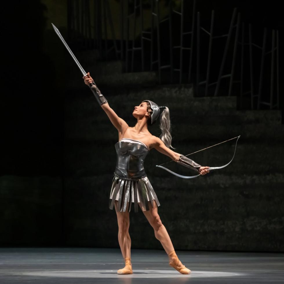 Houston Ballet principal Karina González in Stanton Welch's Sylvia.