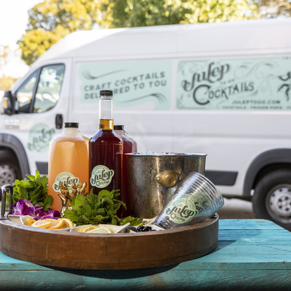 Julep cocktail truck
