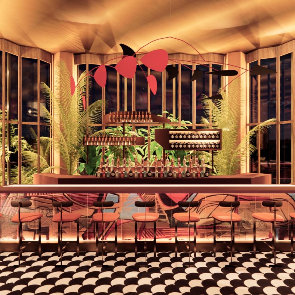 The Lymbar Bar rendering