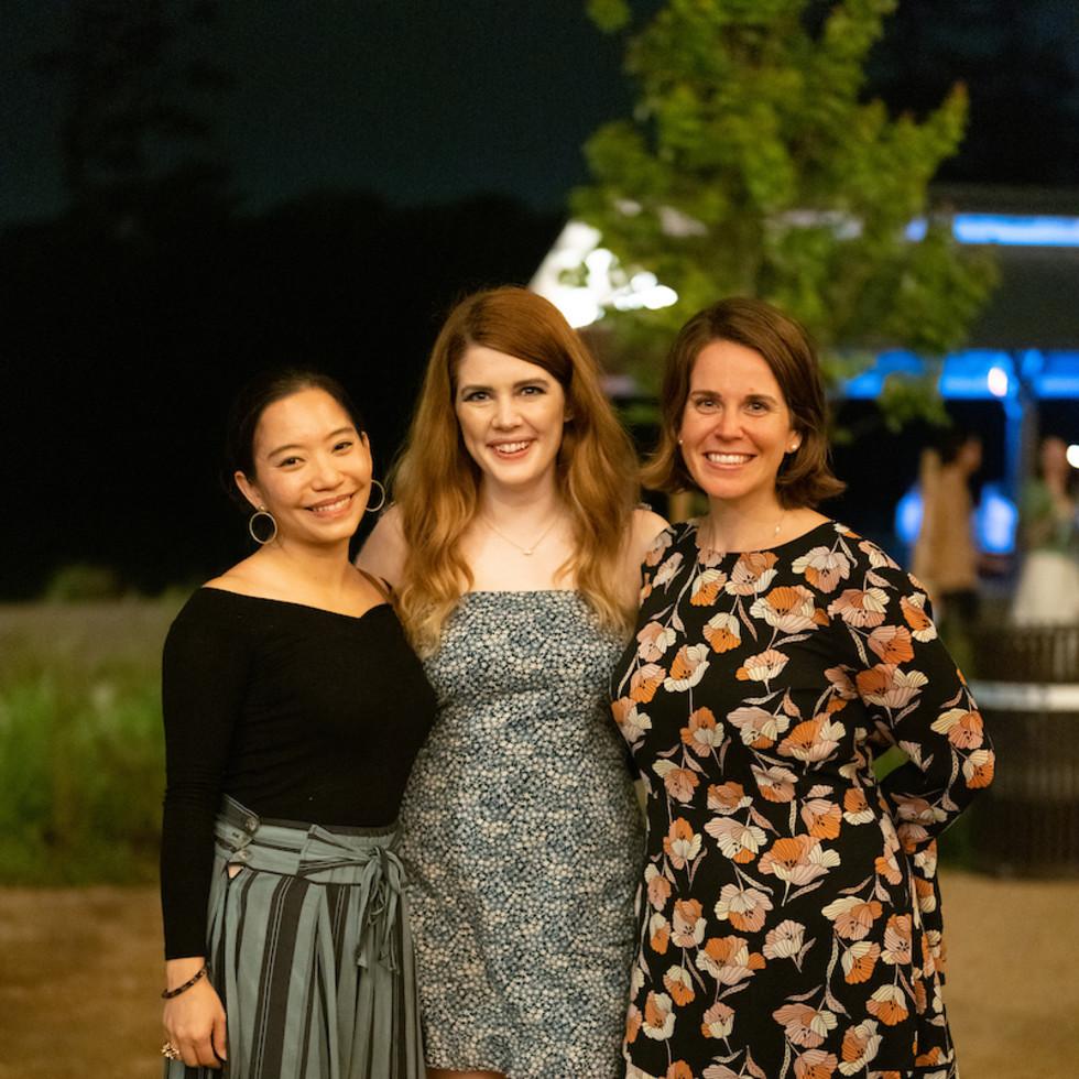 Memorial Park Conservancy Urban Wild Glow in the Glades 2021Nat Wanissorn, Amanda Bissett, Jill Stillwagon