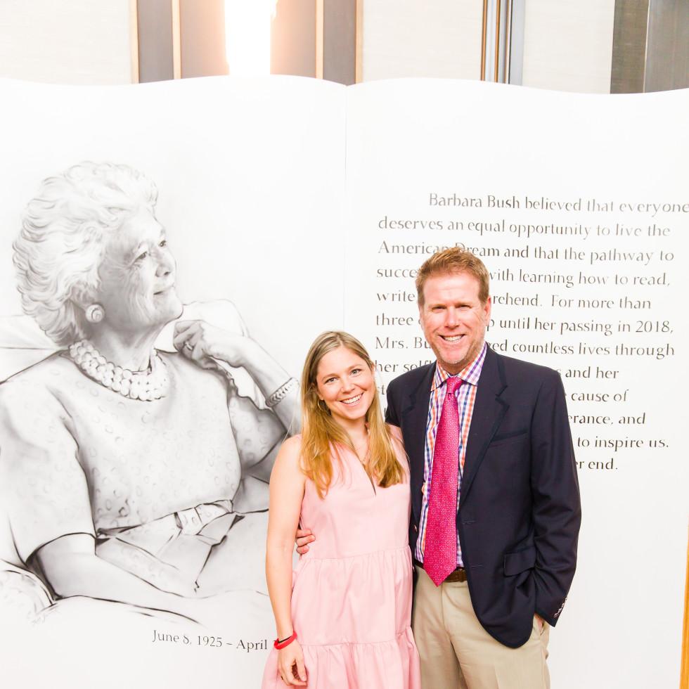 A Celebration of Reading Bush 2021 Daniela Stephen Herring