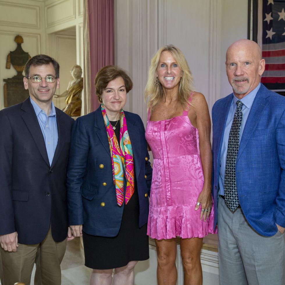 A Celebration of Reading Bush 2021 Peter Baker and Susan Glasser, Elin Hilderbrand, Mark Sullivan