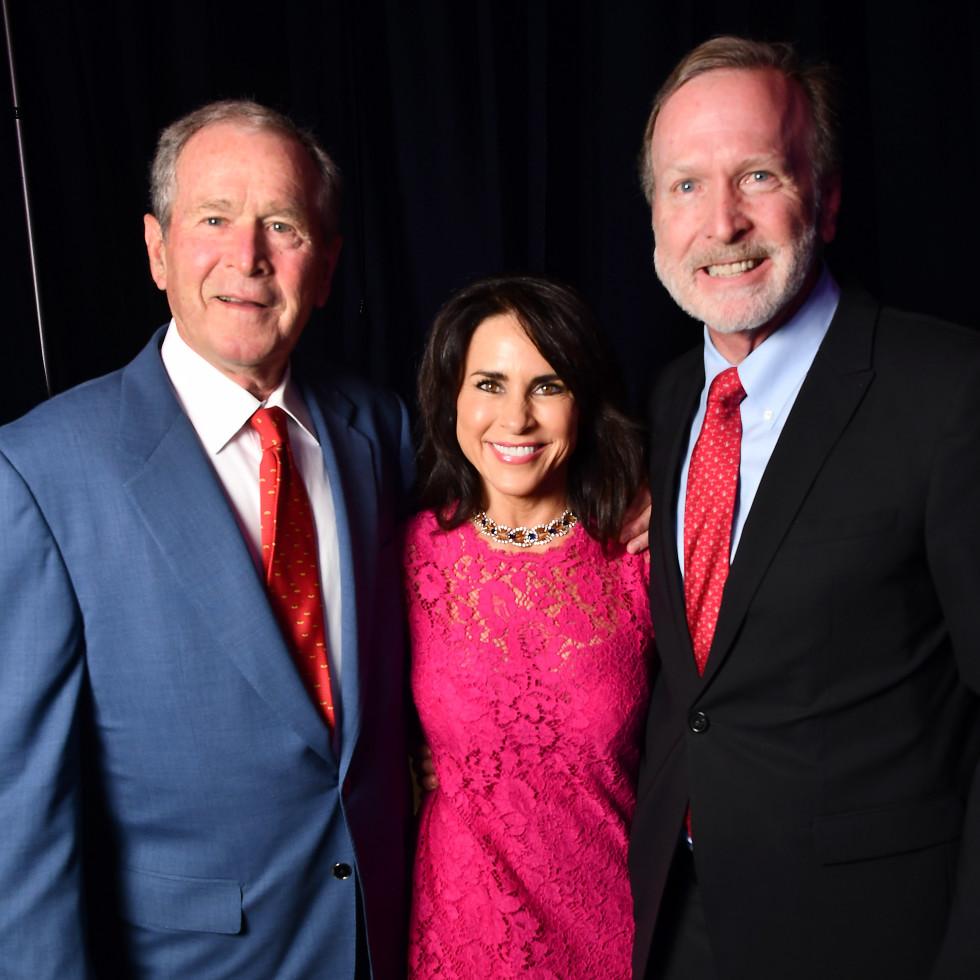 A Celebration of Reading Bush 2021 George W. Bush Maria Bush Neil bush