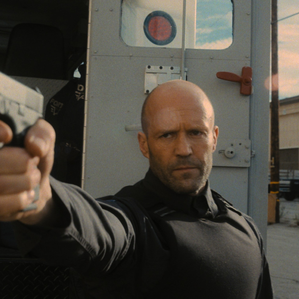 Jason Statham in Wrath of Man