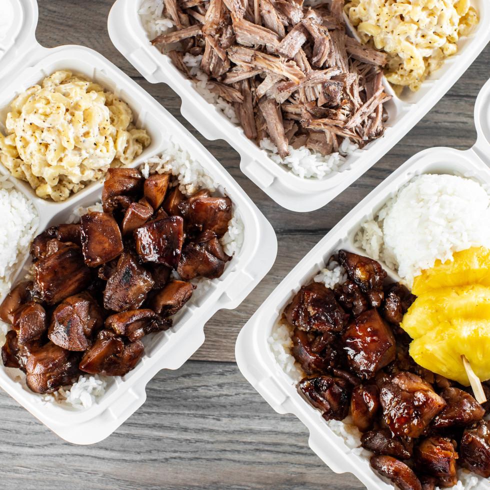 Hawaiian Bros. plate lunches