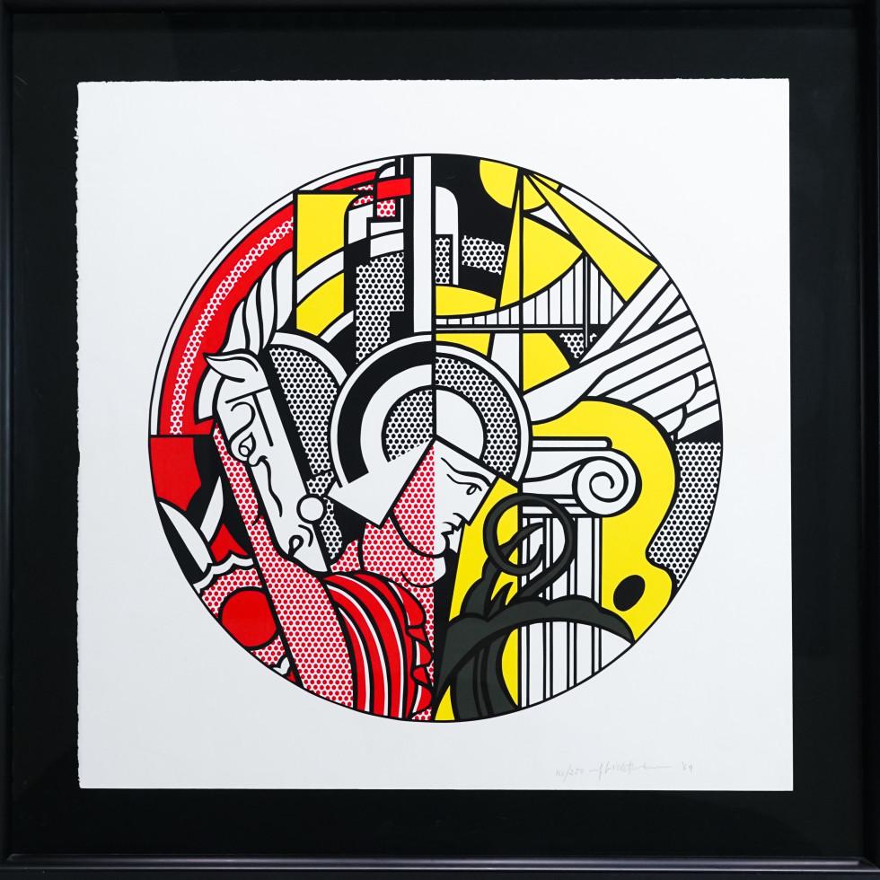 Lichtenstein screenprint
