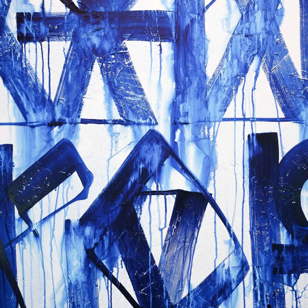 RETNA acrylic on canvas