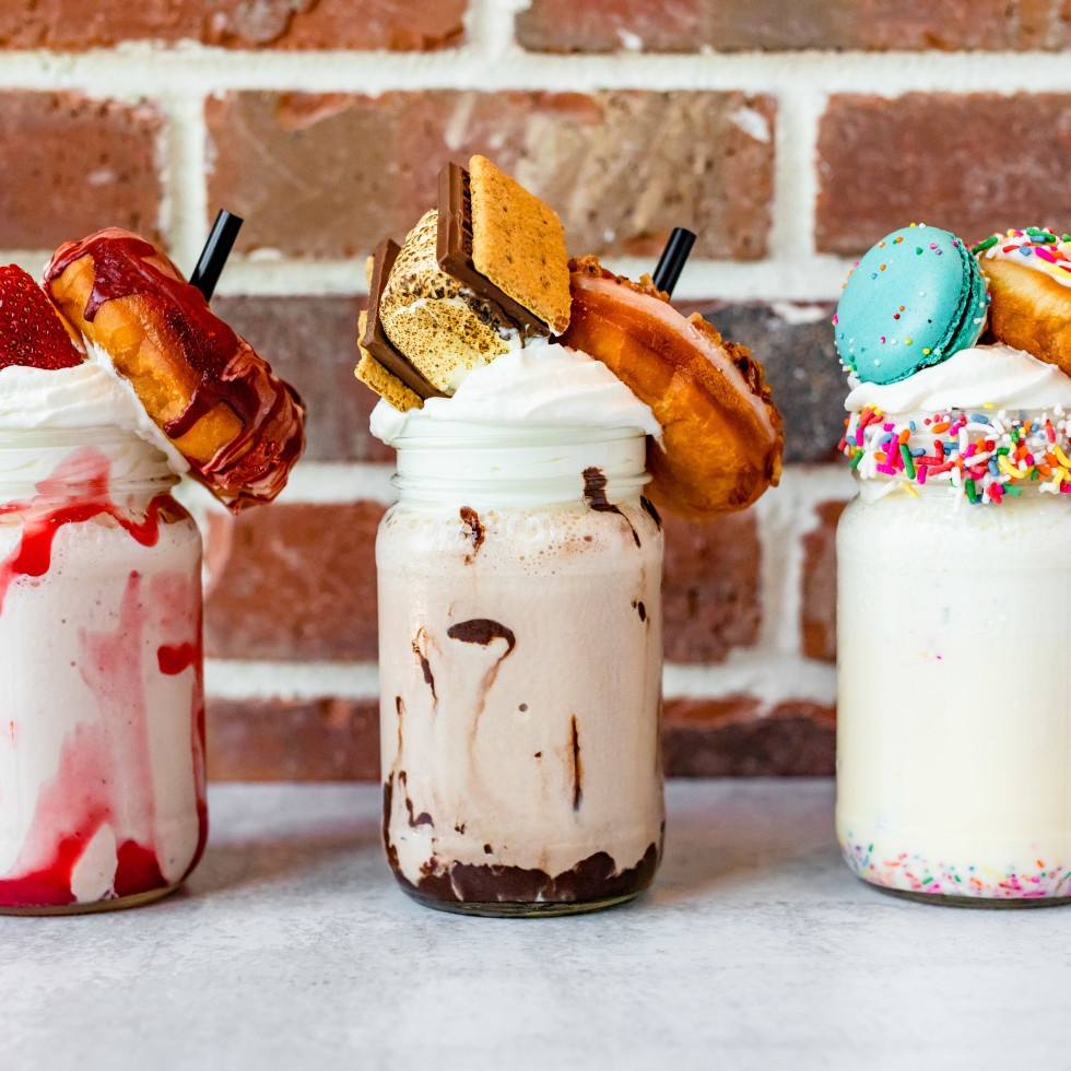 Back Table Kitchen & Bar milkshakes