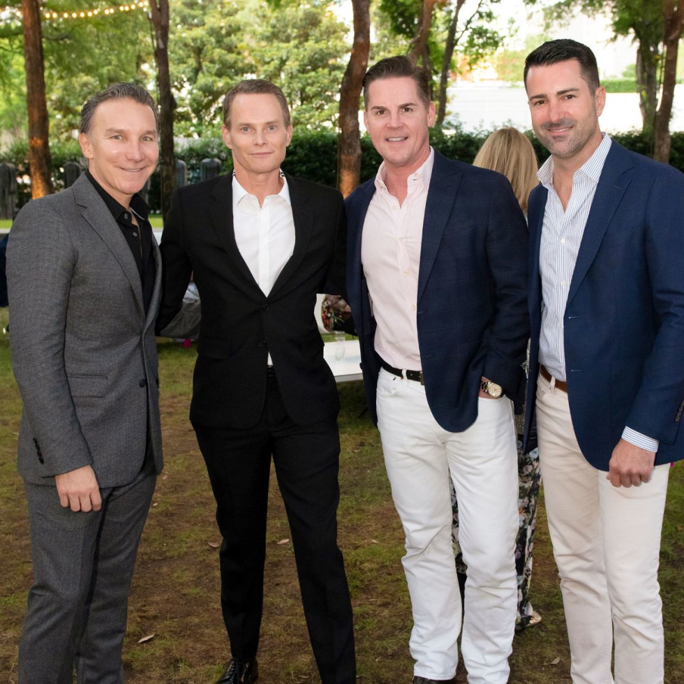 Gonzalo Bueno, Michael McCray, Forrest Gregg, Robby Sturgeon