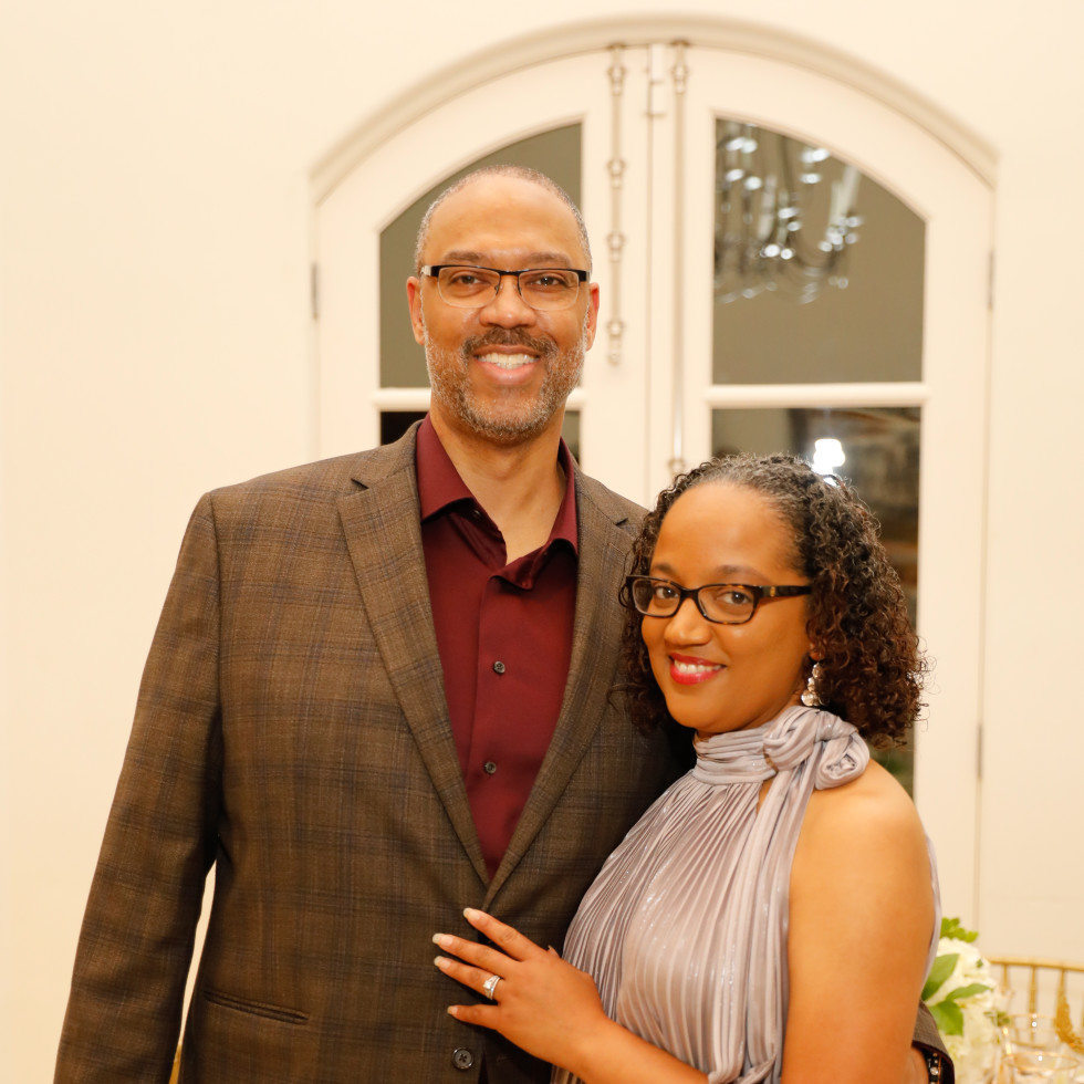 Junior League Ball Illuminate 2021 Wendy Lewis Armstrong & Vince Armstrong, II