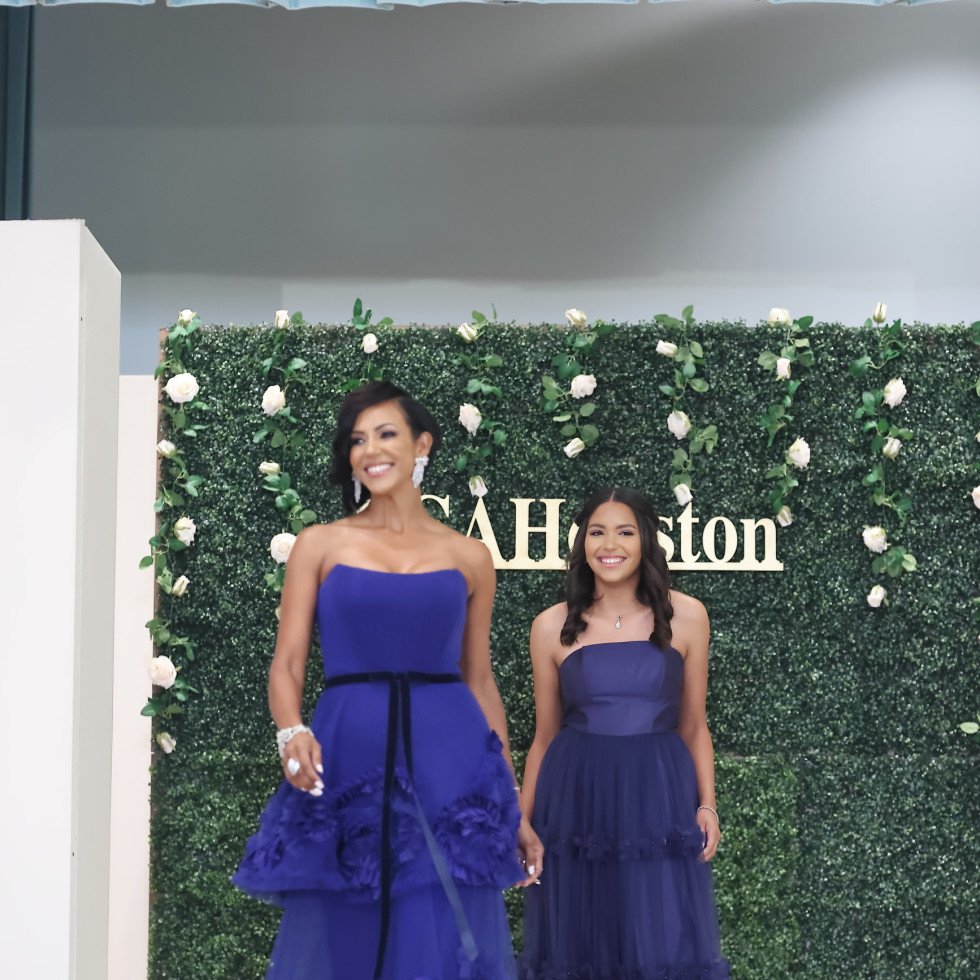 LCA Houston Mother's Day Soiree 2021 Milka Waterland with Isabella