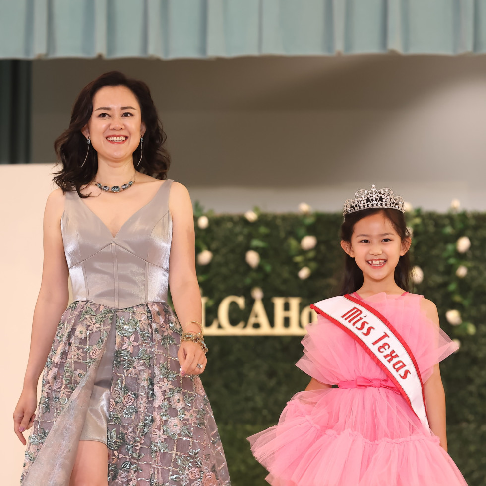 LCA Houston Mother's Day Soiree 2021 Shabho Du and Mia Zhong Quy