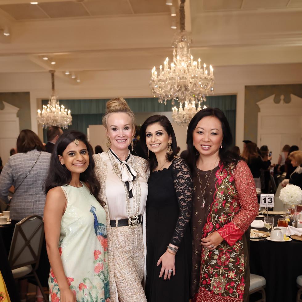 LCA Houston Mother's Day 2021 Pooja Lodhia, Wendy Granato, Sadaf Choudhury, Miya Shay