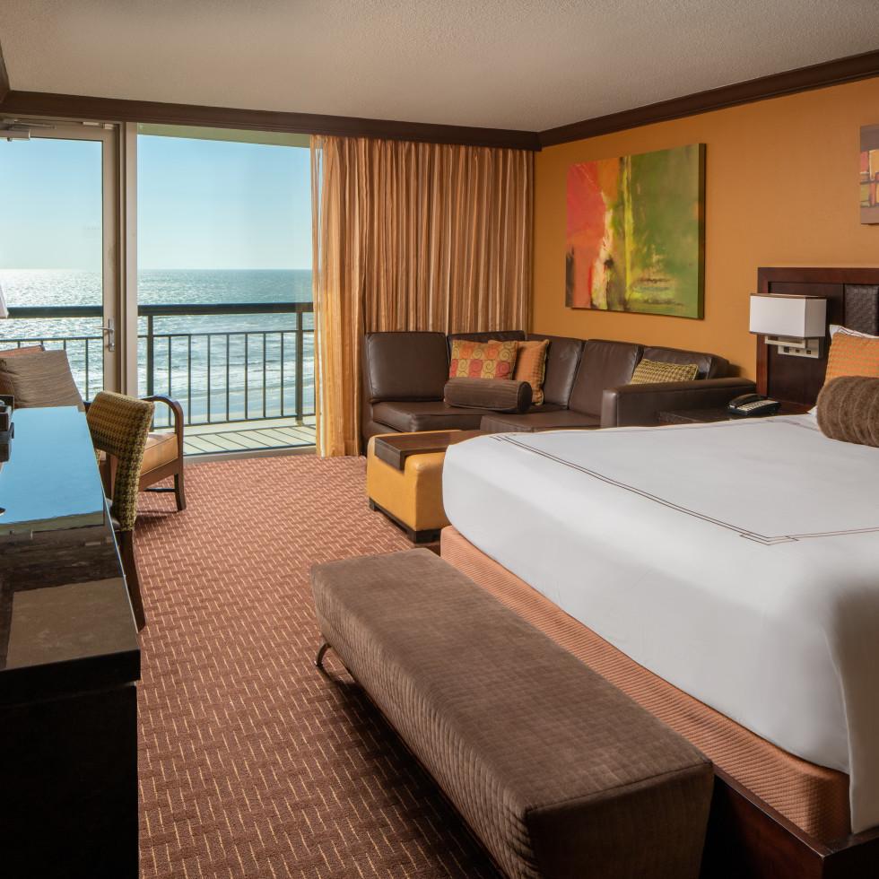 Club Ten room, San Luis Resort Galveston